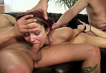Throat Fuck Gang Bang 10 - Megan