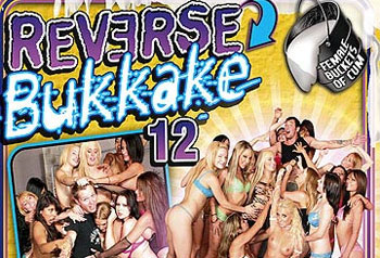 Reverse Bukkake 12 - Full Movie